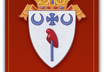 Diocesan Crest C Red Light